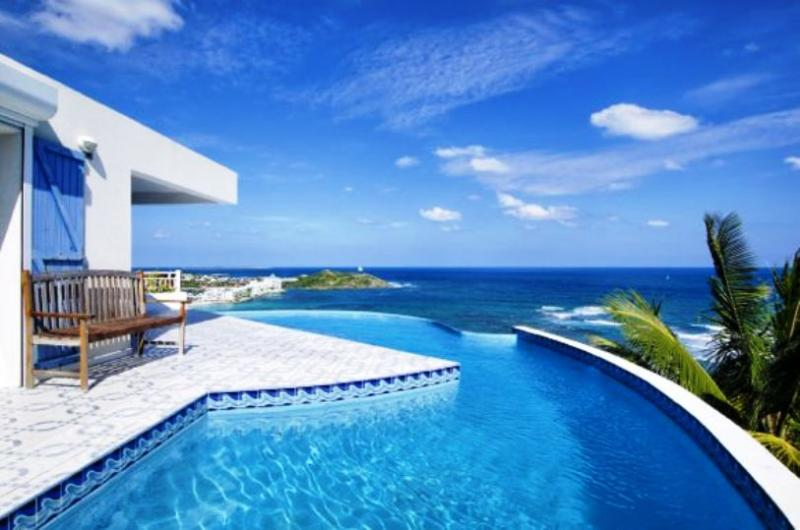 Sea Star, Dawn Beach Estates, St Maarten - SEA STAR... amazing views, refreshingly tranquill 3 BR villa in Dawn Beach Estates - Dawn Beach - rentals