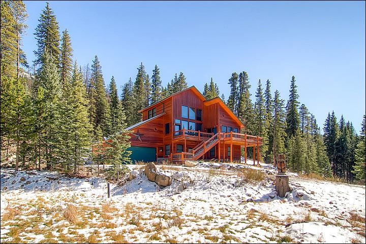 Secluded Mountain Getaway - Private Luxury Home on Three Acres - Fabulous Mountain and Forest Views (13122) - Breckenridge - rentals