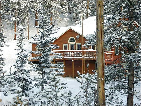 Beautiful Snow Covered Home - Recently Remodeled - Gorgeous Views of Baldy Mountain (13320) - Breckenridge - rentals