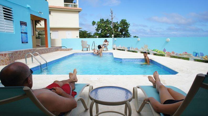 Swimming pool (New December 2012) - Vista del Mar Apts -Affordable-Sandy Beach Area - Rincon - rentals