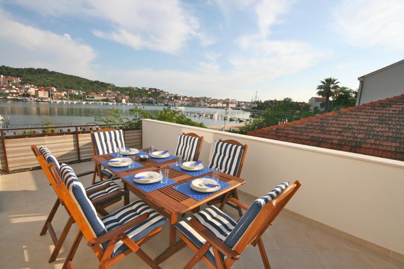 Terrace view - Location! Location! Location! Trogir, Croatia - Trogir - rentals