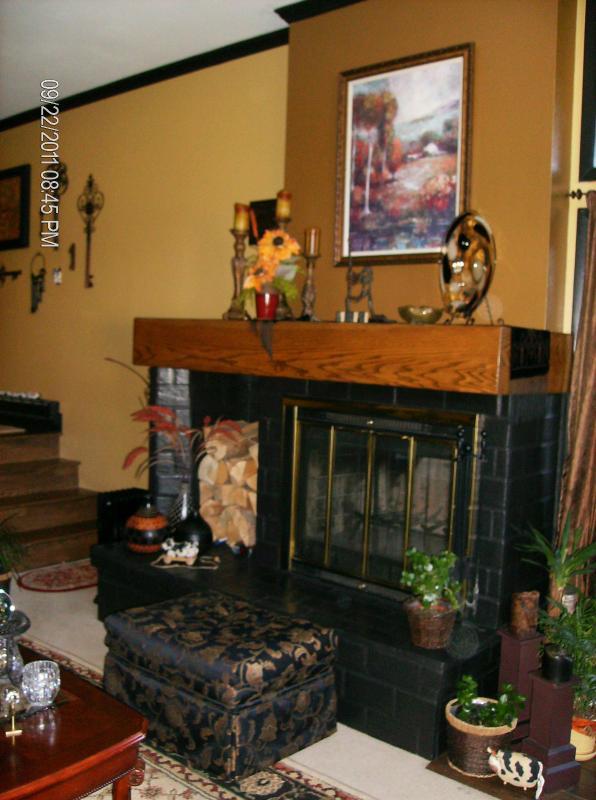 fireplace - Cozy Condo at Base of Beaver Creek - Beaver Creek - rentals
