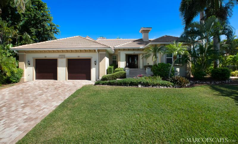 KENDALL - 4 Bedroom Coastal Villa Off Collier Bay, Walk to Tigertail Beach! - Image 1 - Marco Island - rentals