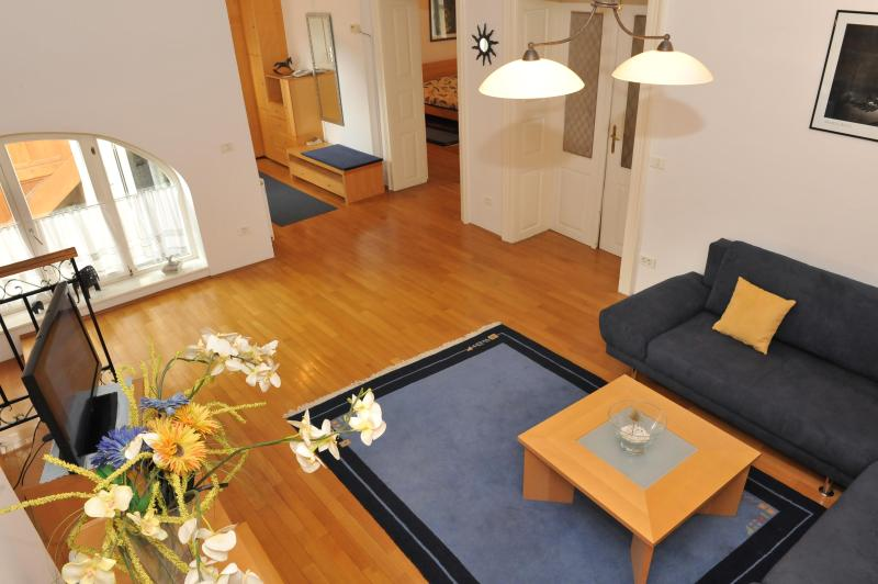 Apartment ANTON - View on living room - Spacious Apartment Anton TourAs in the city center - Ljubljana - rentals
