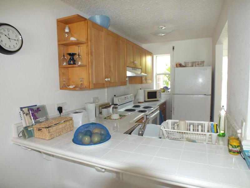 Fully Equipped Kitchen - Villa 221E, South Finger, Jolly Harbour - Antigua - rentals