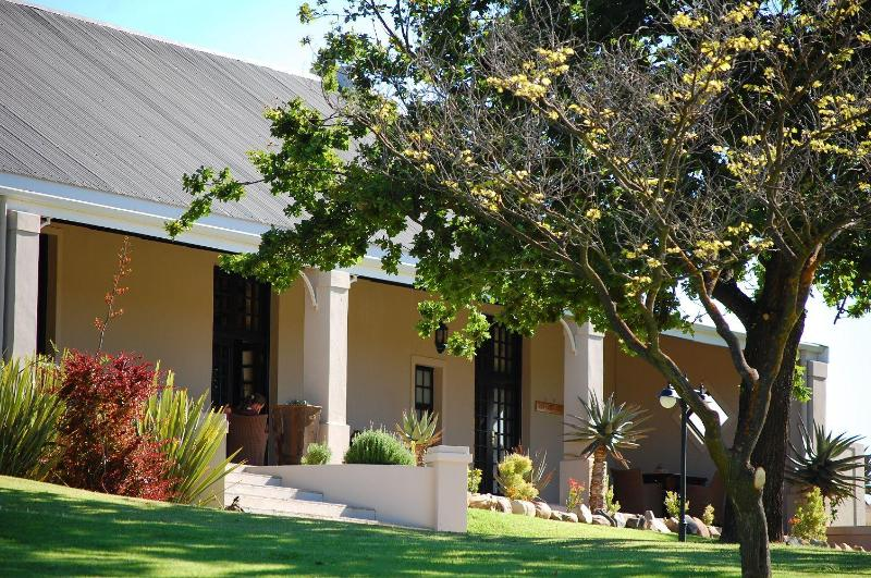 The Lodge is surrounded with wide patios - Swartberg Private Game Lodge - Oudtshoorn - rentals