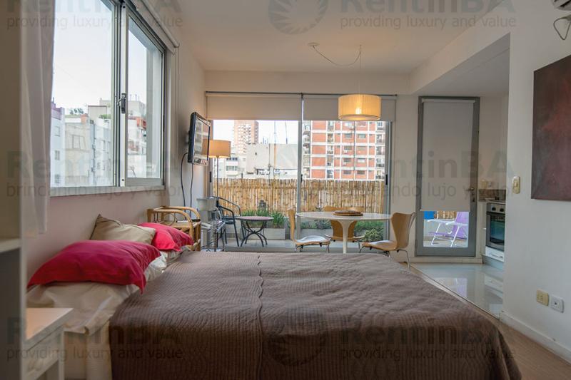 Comfy Barrio Norte Retreat with Balcony (ID#297) - Image 1 - Buenos Aires - rentals