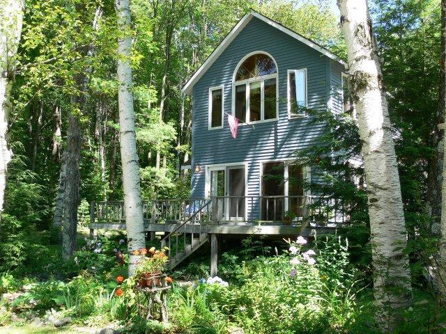 Adirondack Lakefront The Blue House on Garnet Lake - Image 1 - Johnsburg - rentals