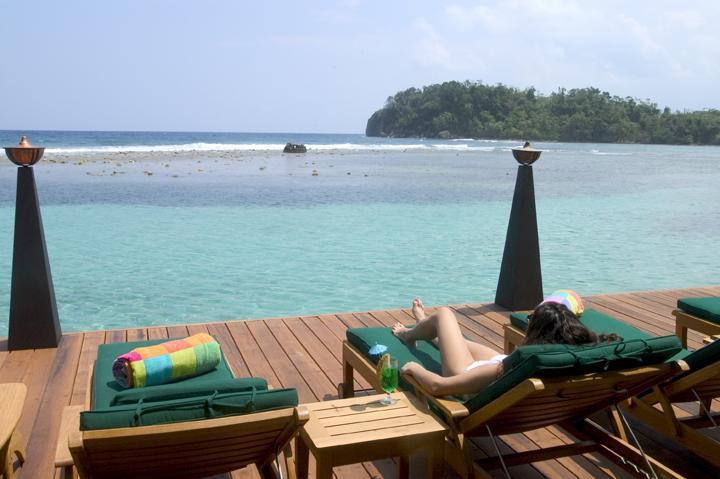 Deck - Bonne Amie Villa - Port Antonio - rentals