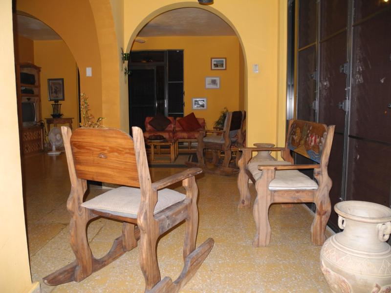 Sitting Room - Ocean View - Vacation Guest House - Sleeps 11 - Cabo Rojo - rentals