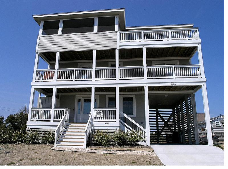 front of 482 Nantucket South - 700 ft to beach, free YMCA w/ pool skatebd park - Nags Head - rentals