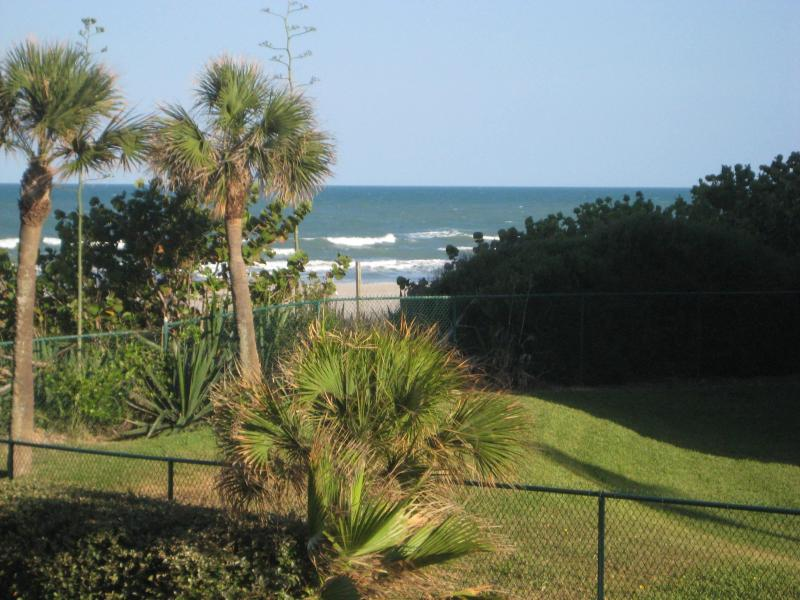 View From Private Balcony - Just a Few Steps from Beach **2 BR, 2 Bath ** - Cocoa Beach - rentals