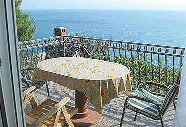 BALKON FROM APARTMENT 2 - Super Horizont Apartments Ivic -Stobrec - Split - rentals