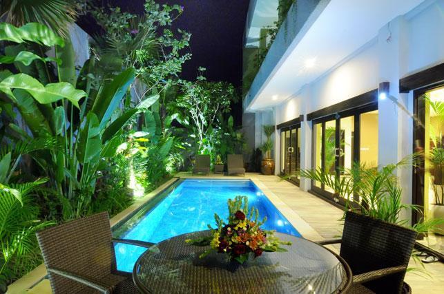 Pool & Living area looking on. - Perfect Seminyak hideaway, affordable luxury. - Seminyak - rentals