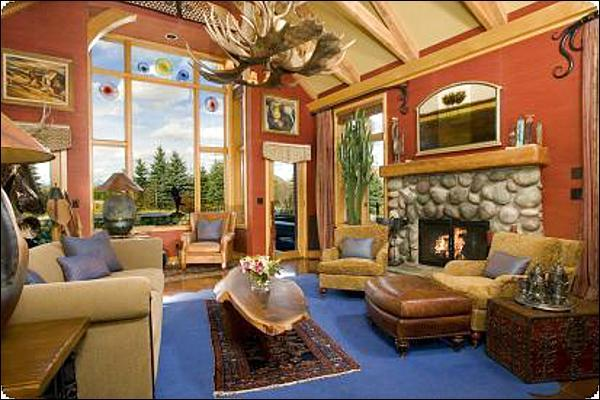 Stunning and Spacious Living Room - Custom Finishes in Every Room - Unparalleled Teton Views (6946) - Jackson - rentals