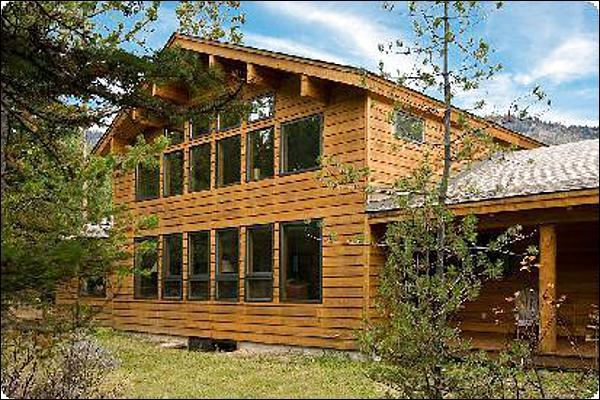 Beautiful Home at the Base of the Tetons - Private and Secluded Location - Floor-to-Ceiling Windows in the Living Room (6941) - Wilson - rentals