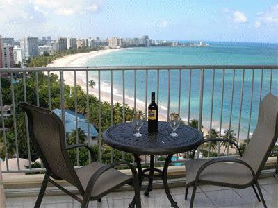 Isla Verde Beach - A Unique Penthouse Studio - Spectacular Ocean View - San Juan - rentals