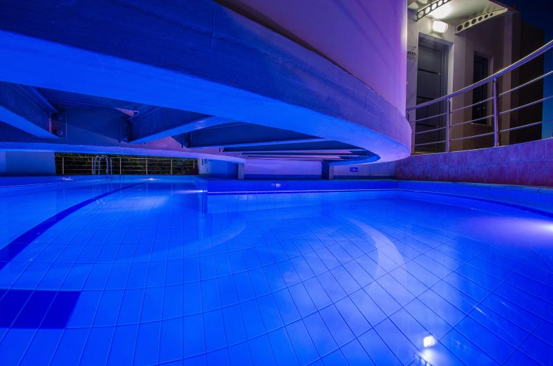 Night Lights at the pool - Anemon Villas - Villa Levantes 20% June Discount - Chania - rentals
