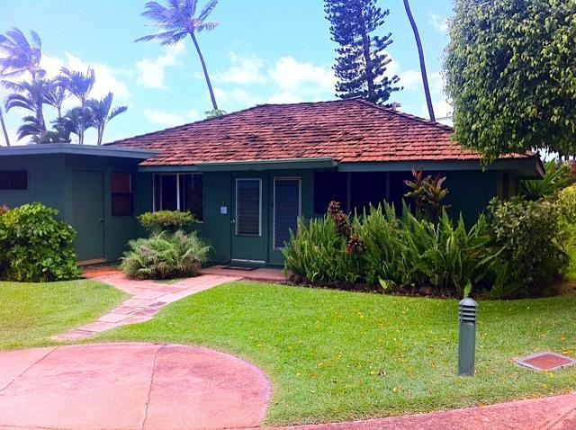 entrance to bungalow - 3 BD Cottage ICC  Across from Ocean @ Kaanapali - Lahaina - rentals
