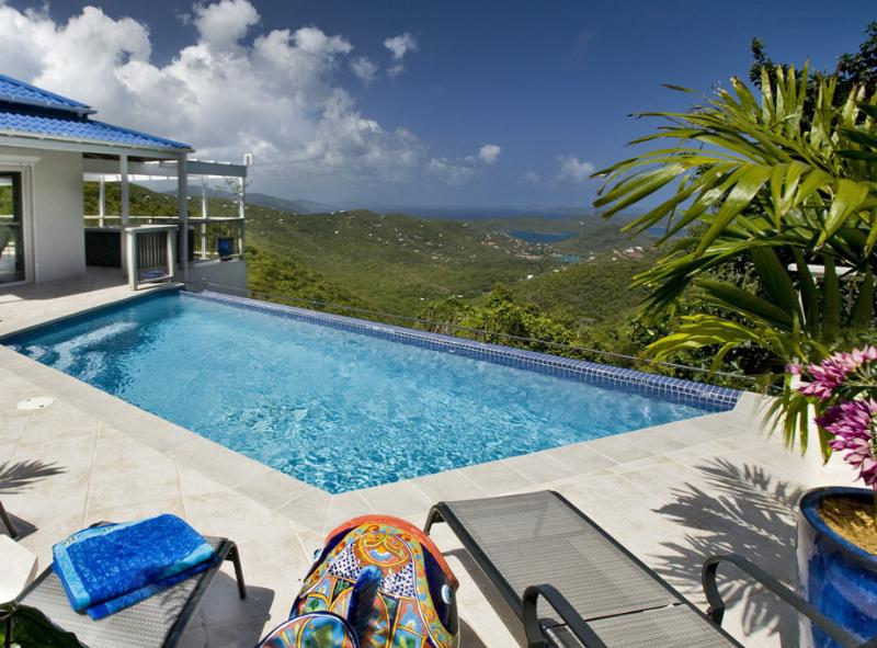 Bordeaux Breeze at Spice Hill, Bordeaux Mountain, St. John - Ocean View, Heated Infinity Pool, Perfe - Image 1 - Saint John - rentals