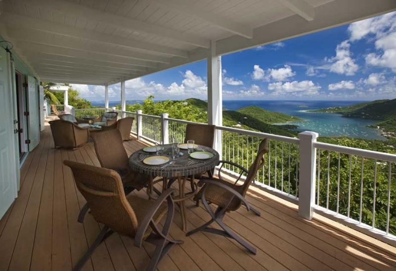 Great Turtle Villa at Majestic Mile, St. John - Ocean View, Views Of Bordeaux Mountain, Pool - Image 1 - Saint John - rentals