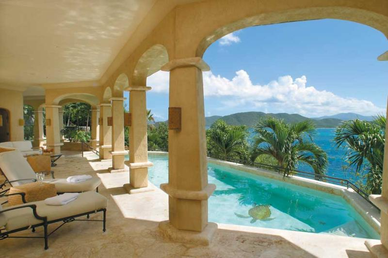Seacove at Peter Bay, St. John - Ocean View, Pool, Lush Landscaping - Image 1 - Saint John - rentals
