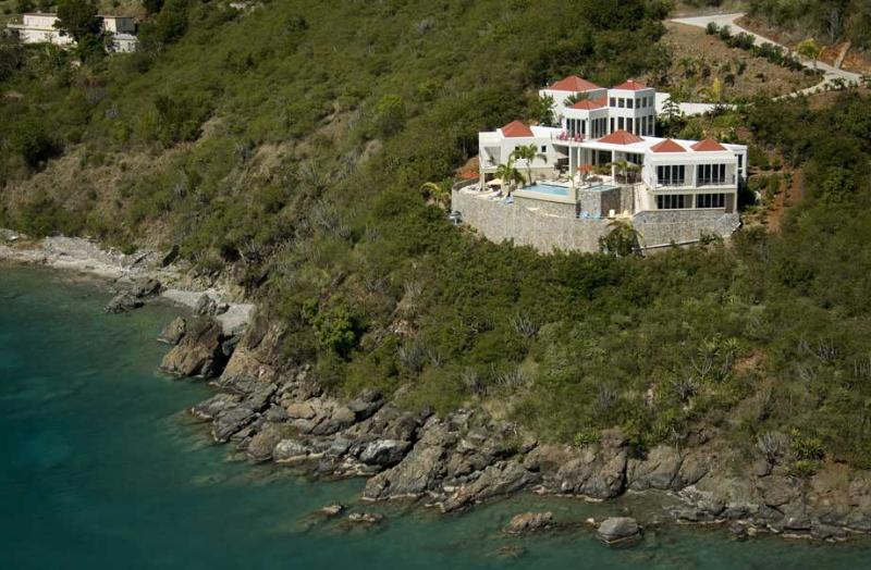 VI Friendship Villa at Great Cruz Bay, St. John - Oceanfront, Pool, View Of - Image 1 - Saint John - rentals