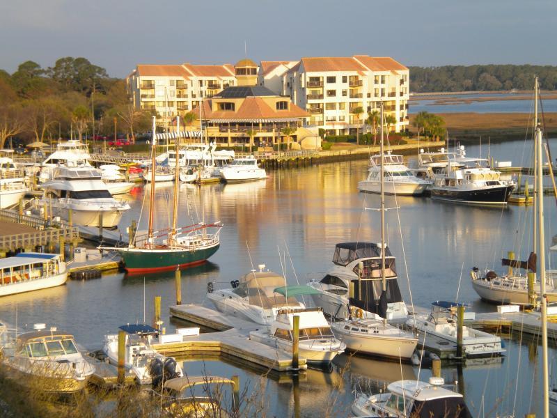 View from the Balcony - Spectacular Villa, Breathtaking Views of Harbor! - Hilton Head - rentals
