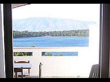 A4Plavi(2+2): terrace view - 5059 A4Plavi(2+2) - Jelsa - Jelsa - rentals
