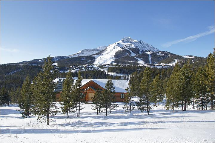 The Property with Lone Peak Looming above! - Quiet Location, High End Property - Ideal for Couples or Single Adults (1044) - Big Sky - rentals
