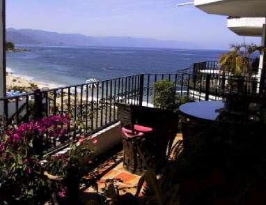 Deck View of Banderas Bay - Los Muertos Beach Location Perfection - Puerto Vallarta - rentals