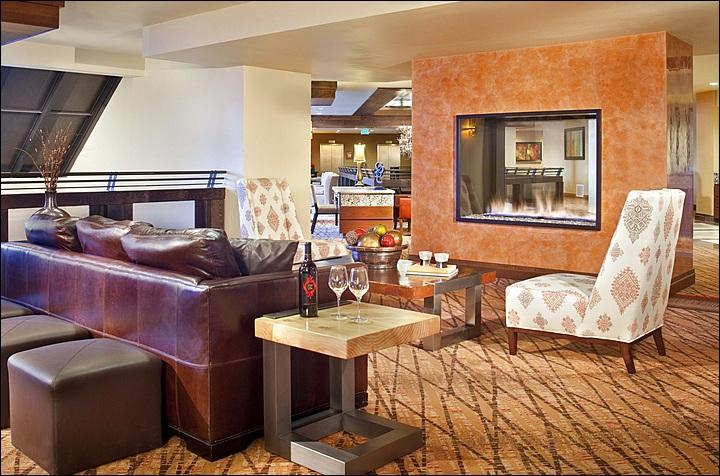 Elevation Hotel Lobby - Perfect for Relaxing with Friends - Luxury Studio Unit - Beautiful Ski Slope Views (1103) - Crested Butte - rentals