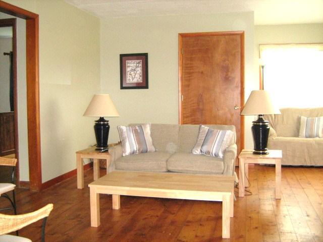 living room with sleeper sofa - Family cottage at the Lake, Port Clinton Ohio - Port Clinton - rentals