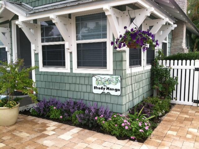 Whimsical plantings in the new garden. - The Shady Mango ~ Anna Maria Island's Most Charming Coastal Cottage! - Anna Maria - rentals