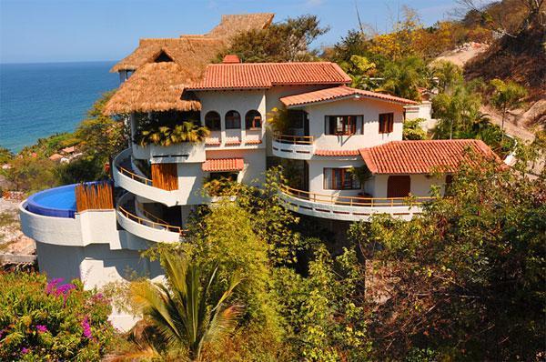Villa and Casita - SPECTACULAR OCEAN VIEW VILLA - Sayulita - rentals