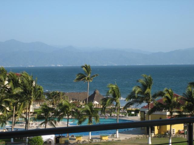 View from our balcony - On the beach & view - Wake to Sounds of the Sea - Nuevo Vallarta - rentals