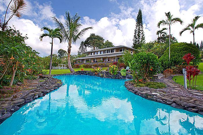 Tranquil estate 2 pools Hot Tub 7 Bdrms 4.5 bths - Image 1 - Holualoa - rentals