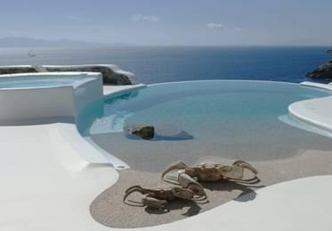 5 bedroom private property with private pool with uninterrupted waterfront access and view - Villa Turquoise My Mykonos Retreat - Mykonos - rentals
