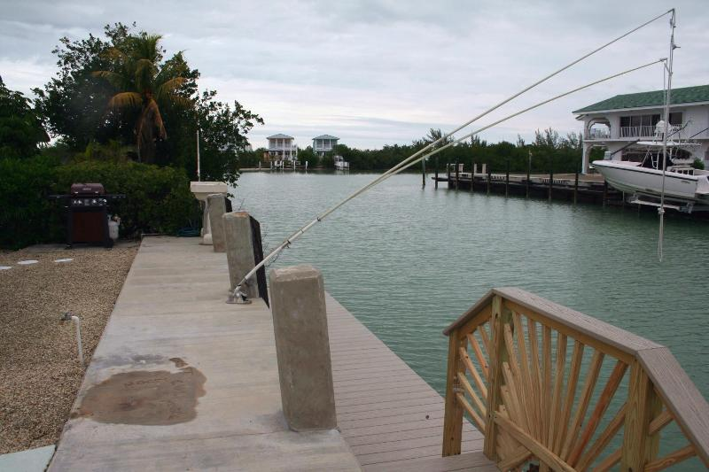 dockage and water view - Faces of the Sun, newly remodeled, # 116B - Key Colony Beach - rentals