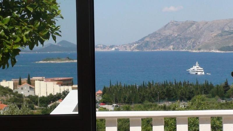sea-view from the balcony - Luxury sea-view apartment I - Cavtat - rentals