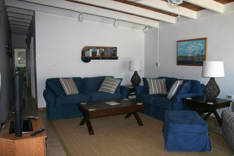 living room - Dolphin Dreams, family friendly! #30A - Key Colony Beach - rentals