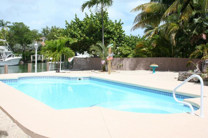 Pool over looking canal - Breezy Palms, single family with a pool!,  #120 - Key Colony Beach - rentals