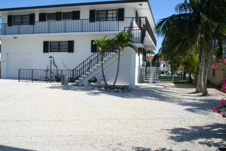 Downstairs portion of house is rental unit. - Keys Get-A-Way, quaint and quiet, # 44 - Key Colony Beach - rentals