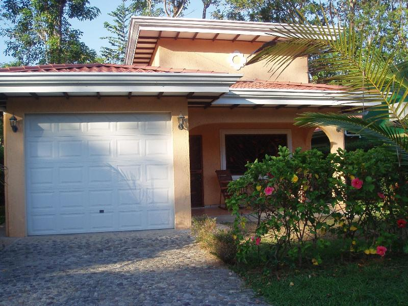 Front of the home - Set in a Tropical Garden, Walk to the Beach - Esterillos Este - rentals