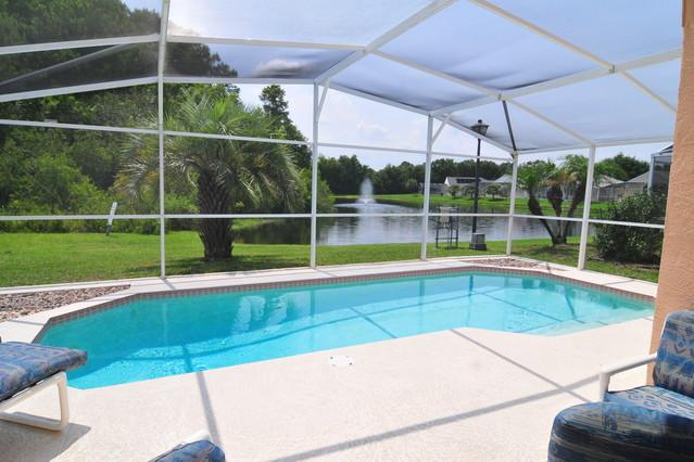 CHATHAM PARK (2689CC) - Charming 3BR 2BA Pool Villa, overlooking lake, Games room - Image 1 - Kissimmee - rentals