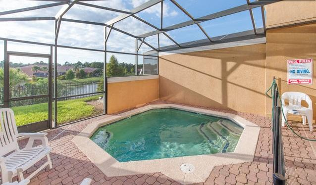 Encantada-3 Bedroom Townhome with Pool, Gated Resort, close Disney, lake view - Image 1 - Kissimmee - rentals