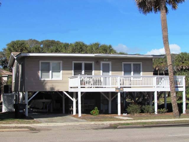 "609 Palmetto Blvd - ""Sandy Paws"" - Image 1 - Edisto Beach - rentals"