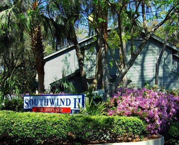 Southwind II Entrance - Southwind II at Shipyard - 3 Bedroom - Hilton Head - rentals