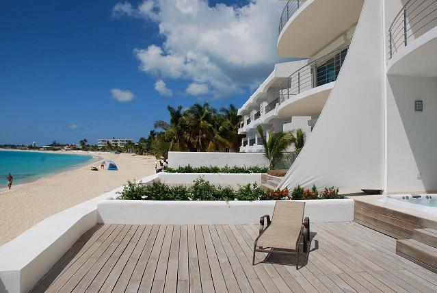 Aqualina #102 at Simpson Bay Beach, Saint Maarten - Beachfront, Ocean View, Jacuzzi Tub - Image 1 - Sint Maarten - rentals