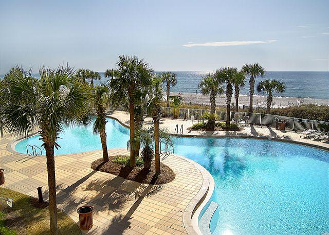 JUST DIVE RIGHT IN! - 2nd Floor Beachfront Condo for 8, Open Week of 4/11 - Panama City Beach - rentals